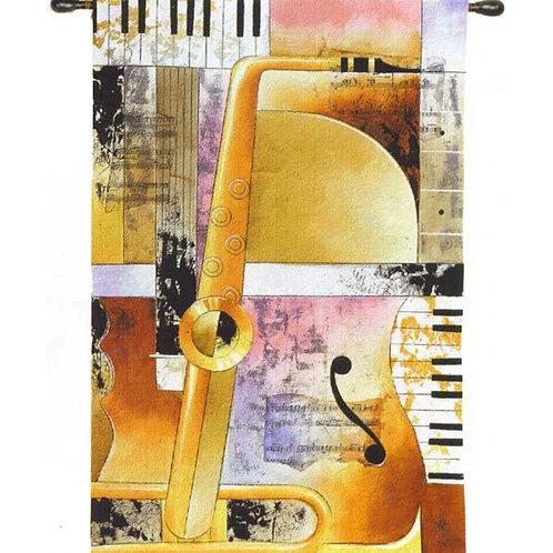 Jazz Medley II (Music) Tapestry Wall Art