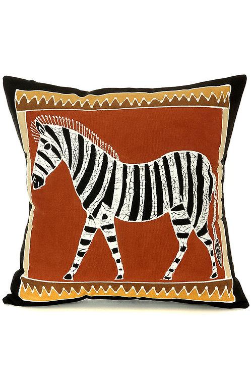 Bush Clay Zebra Pillow Cover