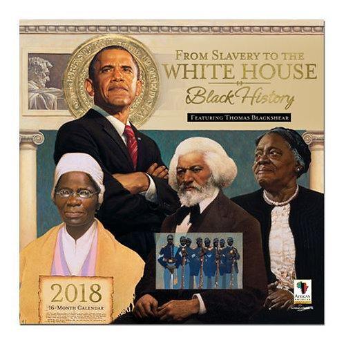 2018 BLACK HISTORY WALL CALENDAR