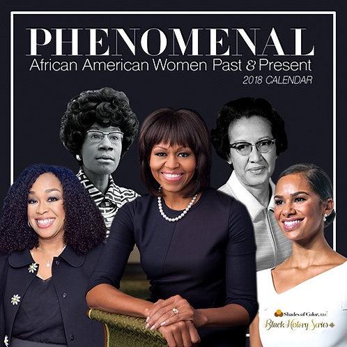 2018 Phenomenal Women Calendar
