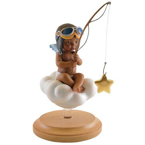 Catching A Blessing Boy- Figurine