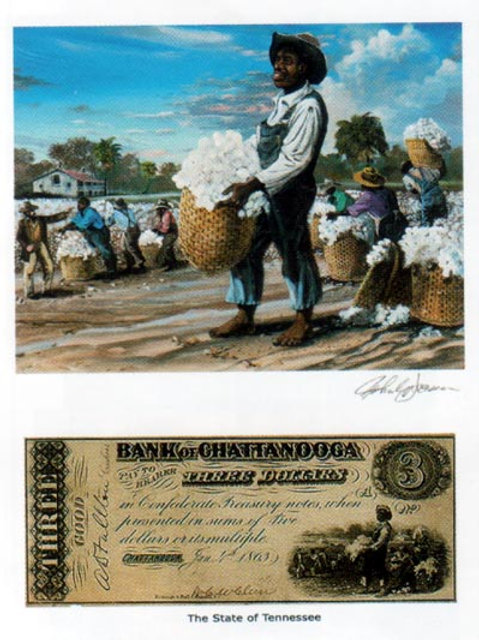 Slaves Picking Cotton :  Tennessee