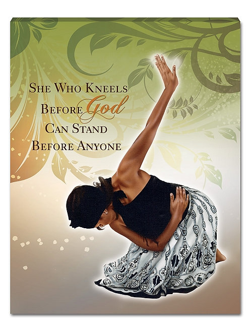 She Who Kneels - small