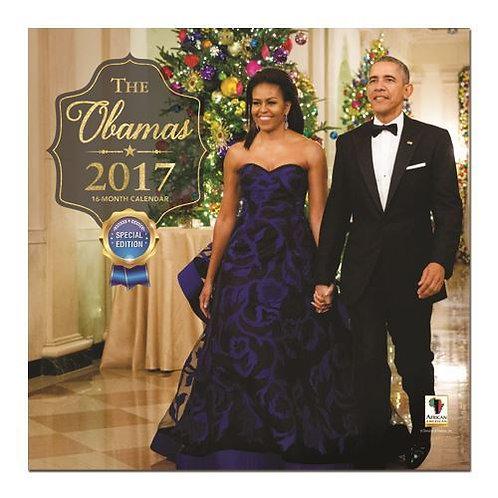 The Obamas  2017 Wall Calendars
