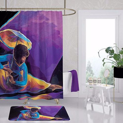 Praise Dancer With Umbrella Shower Curtain