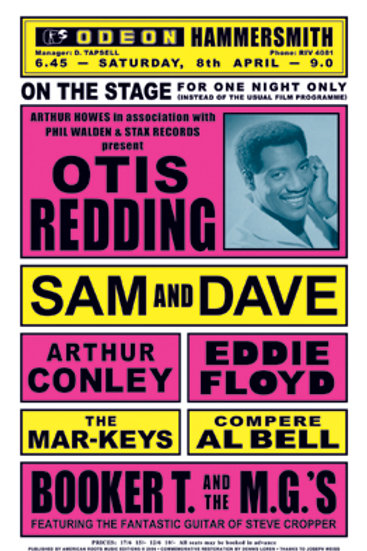 Otis Redding: London England, 1967