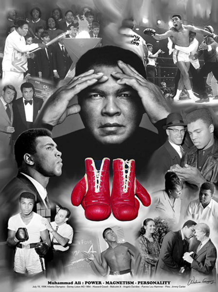 Ali : Power, Magnetism, Personality