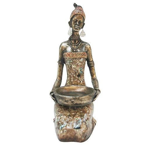 Kneeling Lady  Figurine