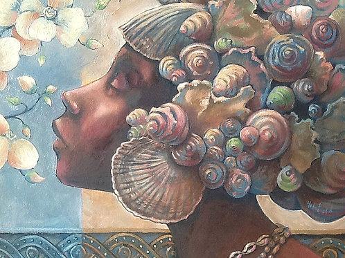 Ebony Goddesses On Canvas - B