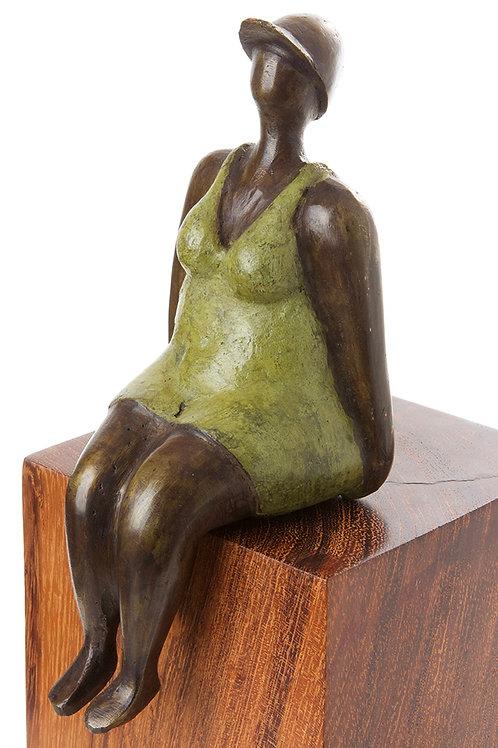 Seaside Sport Bronze Sculpture