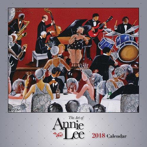 2018 The Art of Annie Lee Calendar