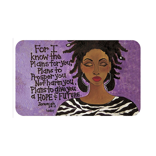 FOR I KNOW THE PLANS  INTERIOR FLOOR MAT