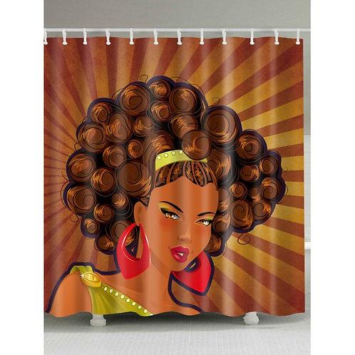 Afro Girl Print