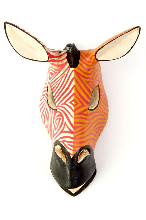 Kenyan Jacaranda Zebra Mask