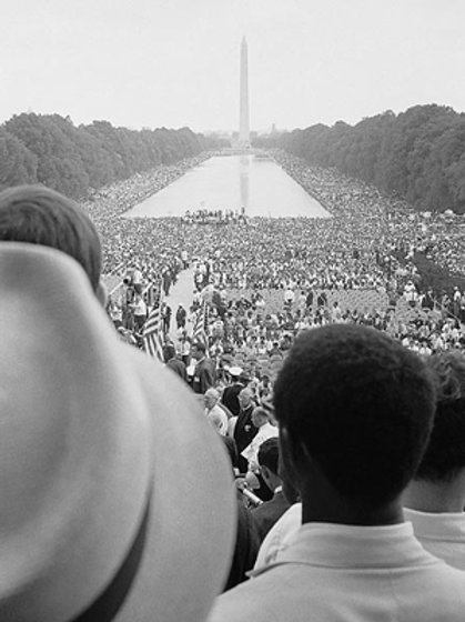 The March On Washington Aug. 28th 1963