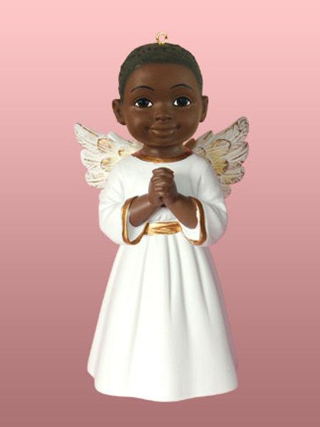 Angel Ornament Prayer: ( Boy )