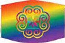 Rainbow | Pride | Floral Mandela