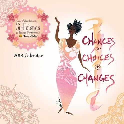 2018 Girlfriends, A Sister's Sentiments Calendar