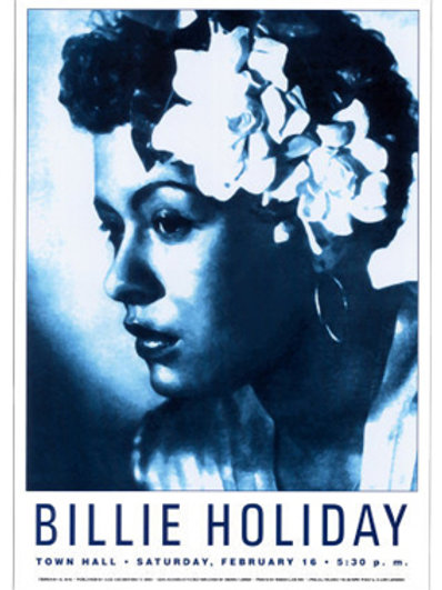 Bilie Holiday : Town Hall  NYC,  1946