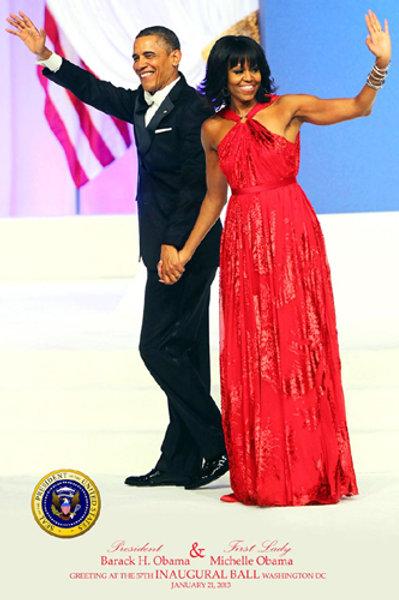 Obama & First Lady 57th Inauguration Ball