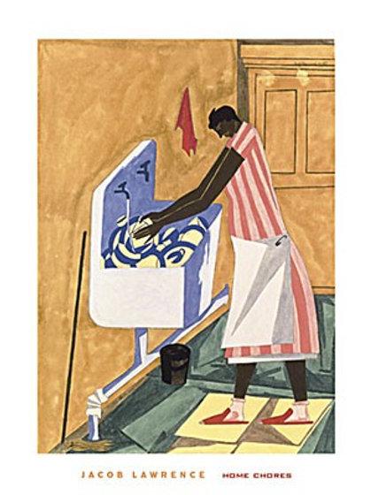 Home Chores,  1945