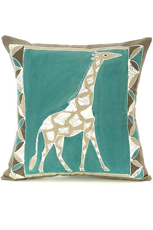 Bush Sky Giraffe Pillow Cover With insert