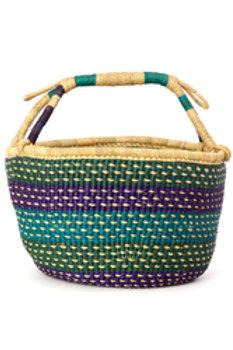 Jewel Tone Bolga Basket