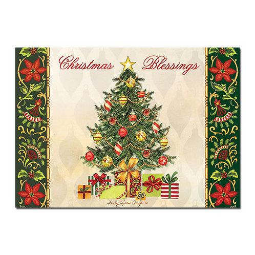 C-927 Christmas Blessings Tree