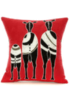 African Hannd Crafted Pillows  Sojourner Art Gallery