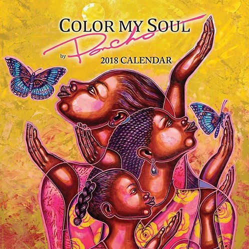 2018 Color My Soul  Calendar