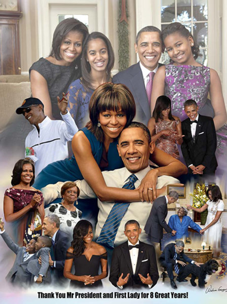 Thank You Mr. President and First Lady