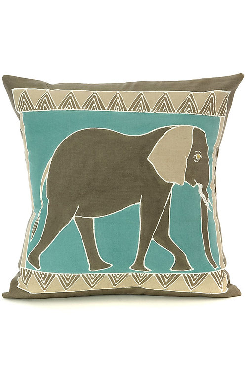 Bush Sky Elephant Pillow Cover