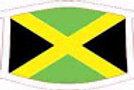 Jamaica Flag - Face mask