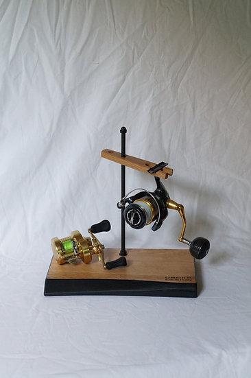 Reel stand 2台用 アウトラインシリーズ 椎の木