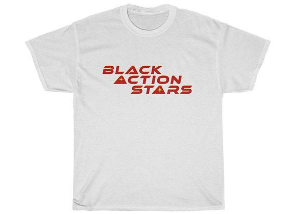 Black Action Stars (Red Logo)