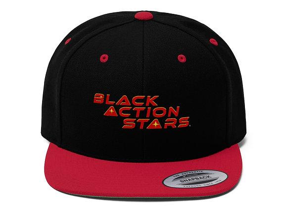 Black Action Stars Snapback