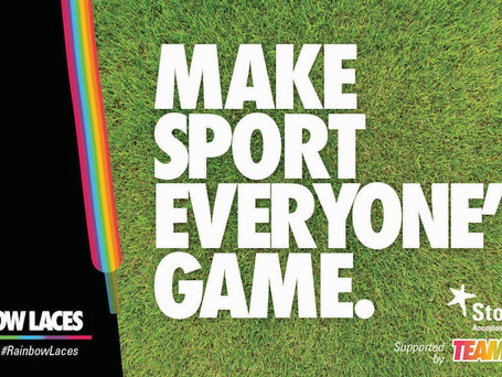 Stonewall Rainbow Laces Campaign