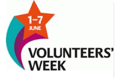 Volunteers' Week 1-7 June