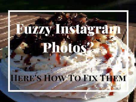 How To Fix Blurry Instagram Photos