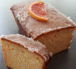 Grapefruit Drizzle Cake