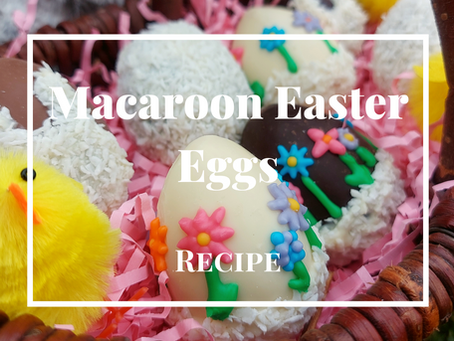 Macaroon Easter Eggs Recipe