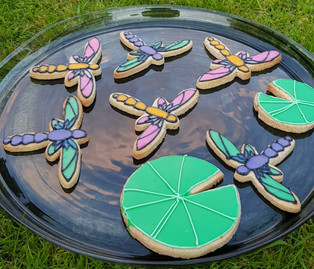 Almond and Nutmeg Dragonfly Biscuits