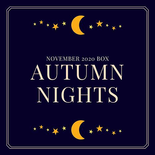 November 2020 Box