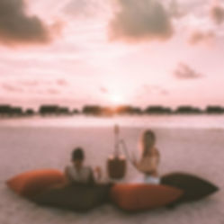 The Wanderlovers Maldives park hyatt hadahaa resort private island shisha sunset beanbags overwater villa