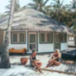 The Wanderlovers Maldives angsana velavaru resort island luxury overwater beach villa