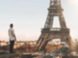 The Wanderlovers paris eurostar Trocadero rooftop view eiffel tower