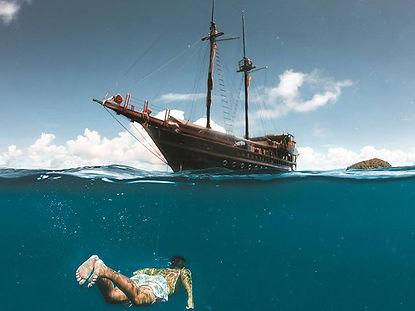 The wanderlovers calico jack luxury scubadive liveaboard raja ampat indonesia sorong west papua Dome underwater