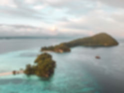 The wanderlovers calico jack luxury scubadive liveaboard raja ampat indonesia sorong west papua arborek village drone