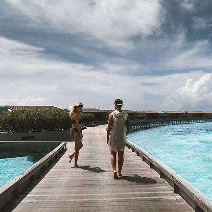 The Wanderlovers Maldives park hyatt hadahaa drone shot aerial view private island resort overwater villa luxury
