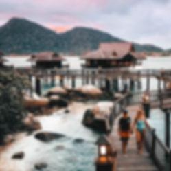 Pangkor Laut Resort Malaysia Luxury Hotel YTL Stilt House Island
